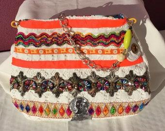 Ibiza bag with many colours