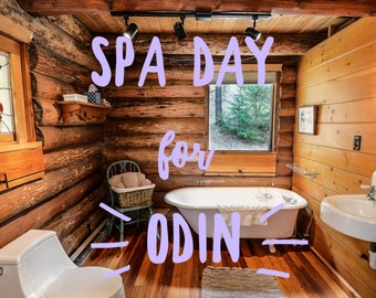 Spa Day for Odin, Beard Oil, Lavender, High Quality, No Artificial Fragrance, No Added Essential Oils, No filler oils