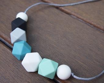 Winter Wonderland Silicone Bead Necklace