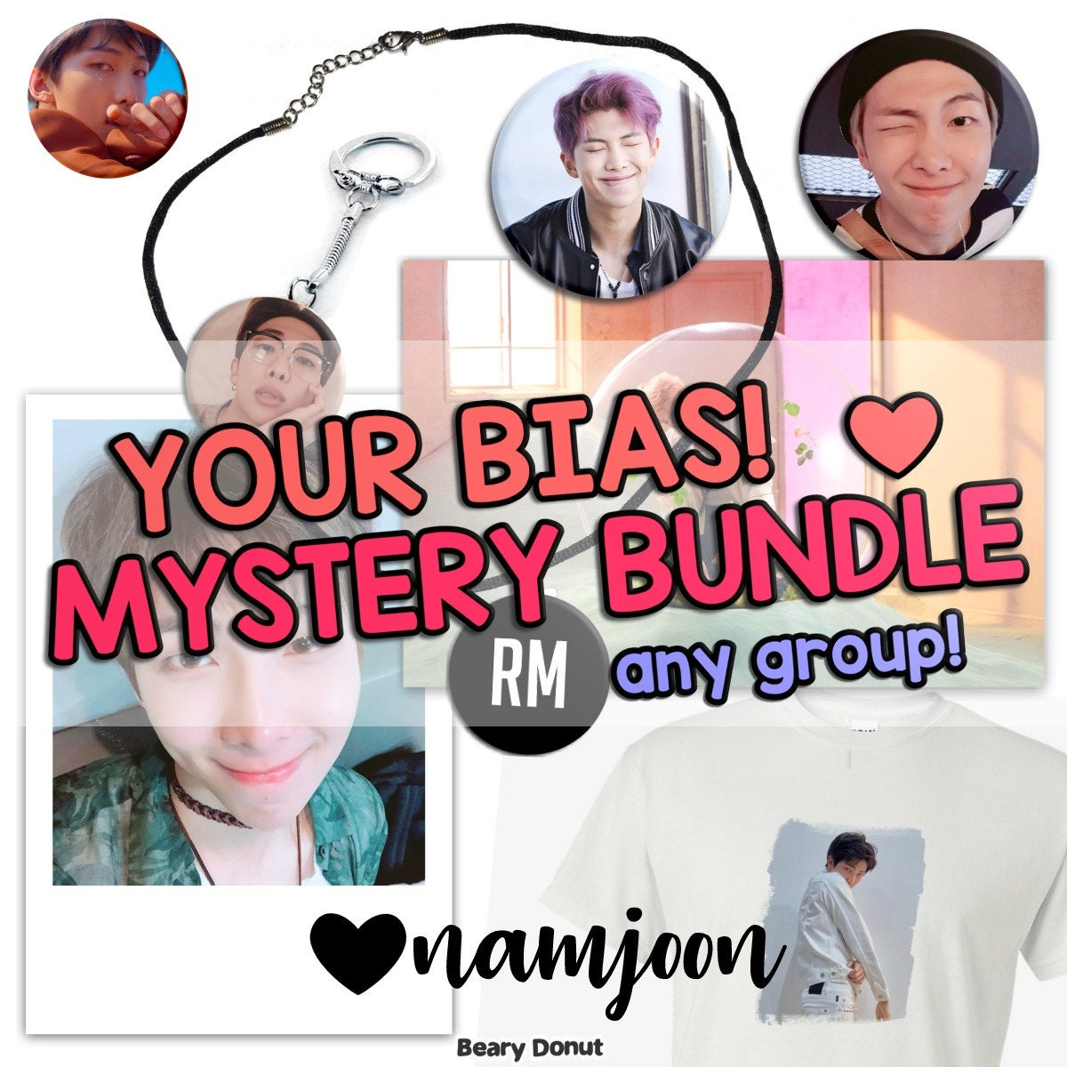 Ashe Momoland kpop your bias! mystery bundle any group box! pin buttons keychain magnet  necklace polaroid tshirt vinyl decal bts exo blackpink 17 twice