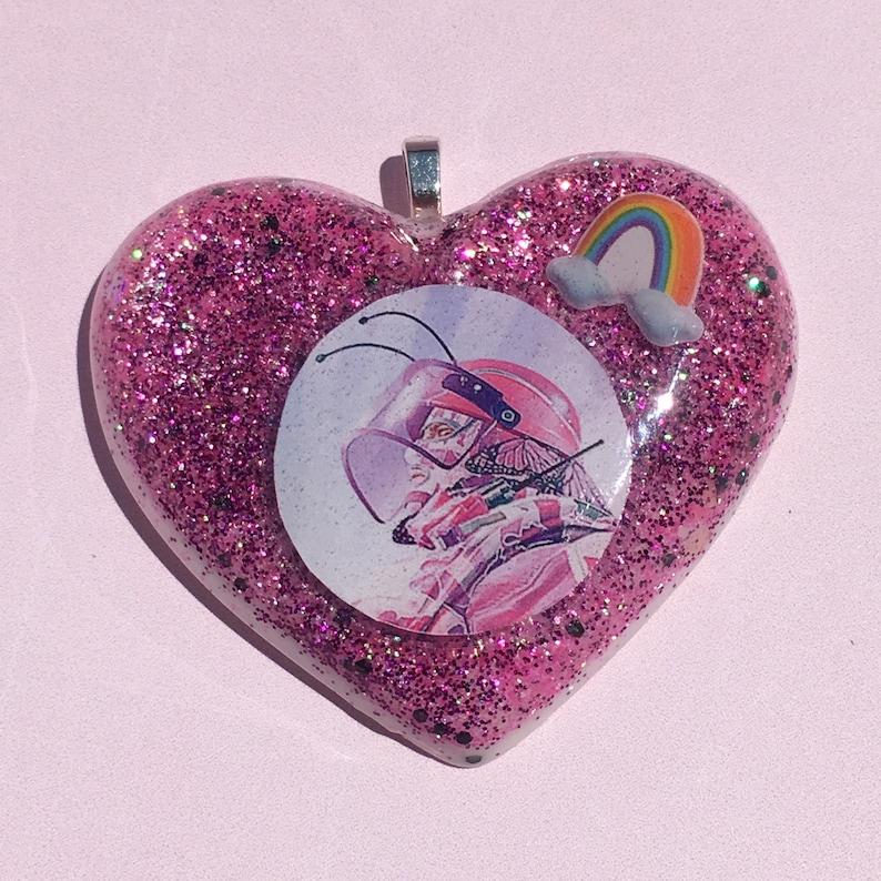 Montagne Rainbow Six Siege Rainbow Is Magic Cute Resin Charm Keychain Necklace Pin