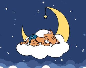 Reecie Enamel Pin - Sleeping Kitties Special Edition, Charity Pin