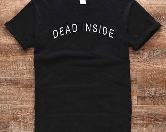 be04a7683a dead inside t shirt i'm dead inside anti-social tumblr shirt tee ET231