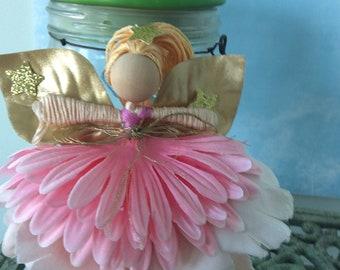 Flower fairy dolls