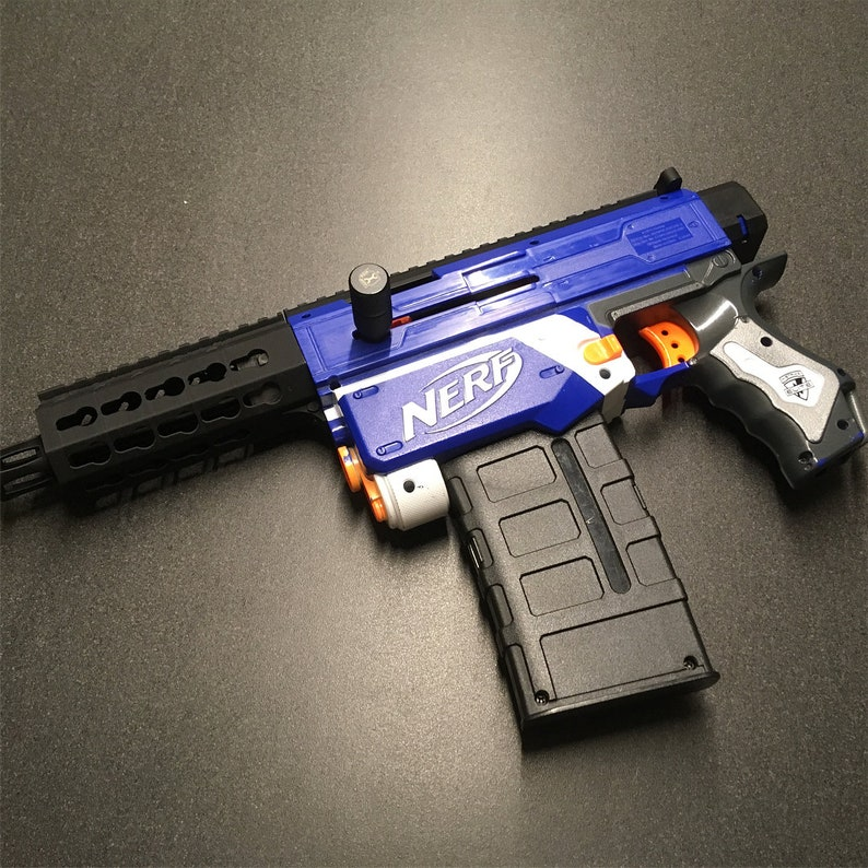 SIG MPX K cosmetic kit for Nerf Retaliator (STL files)