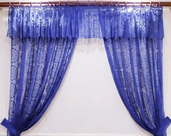 Blue Ready Curtains