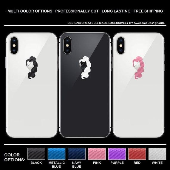 Beauty /& The Beast iPhone Carbon Fiber Decal. Belle