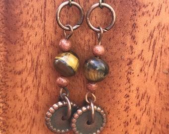 Circles and Spheres Earrings