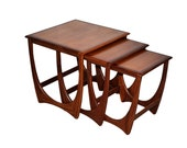 GPlan Nest of tables 1970s, VB Wilkins
