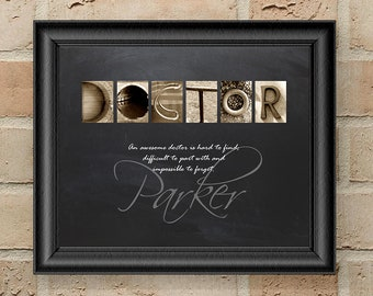 Personalized Doctor Gift, Gift for Doctor, Doctor Retirement Gift, Doctor Gift, Doctor Appreciation Gift, Doctor, Doctor Graduation Gift