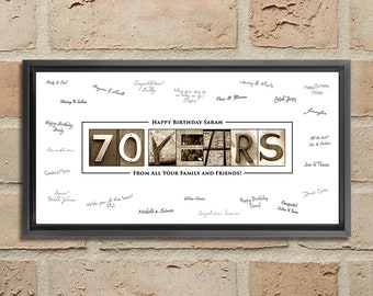 70th Birthday Gift For Men Decoration Women Mom 70