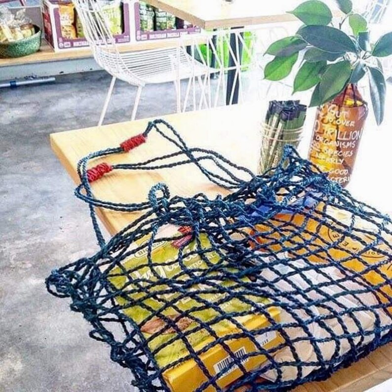 Coconut fibre string bag