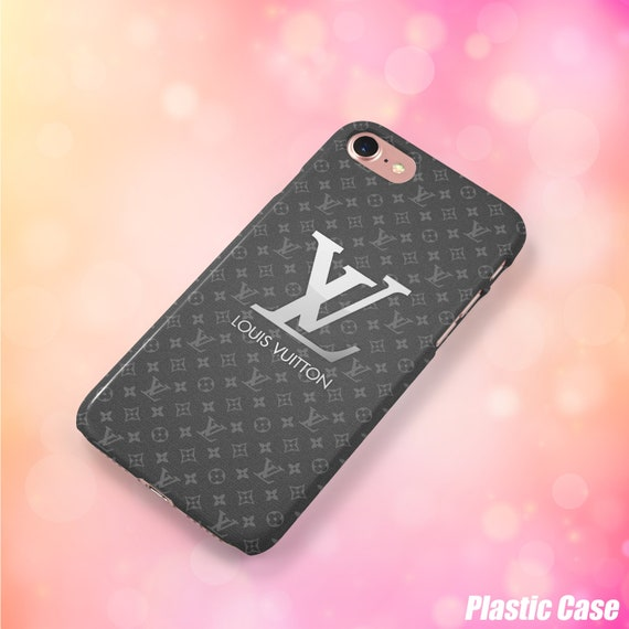 4257d6e9bb20 inspired by Louis Vuitton iPhone 8 case Samsung S9 case Black