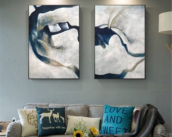 2 Piece Painting Etsy