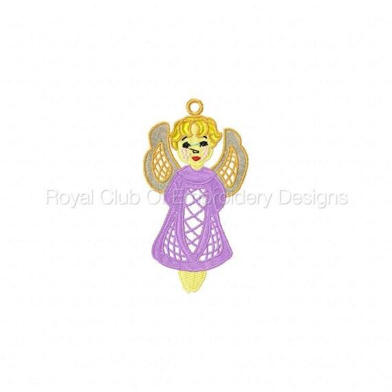 FSL Angels Set - Machine Embroidery Designs