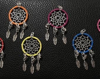 Handmade dream catcher pendants