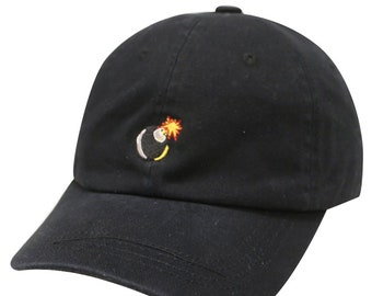 Bomb Emoji Cotton Baseball Cap dfeb59be9941