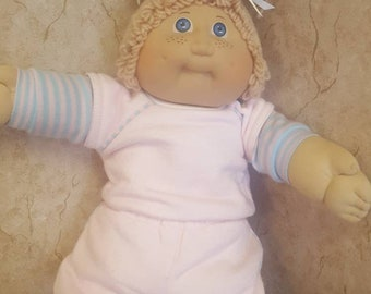 cabbage patch kid black signature xavier roberts with adoption papers