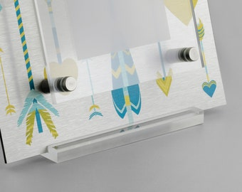 Acrylic Stand Easel For Picture Frames - Photo Stand Easel Stand - Floating Photo Frames