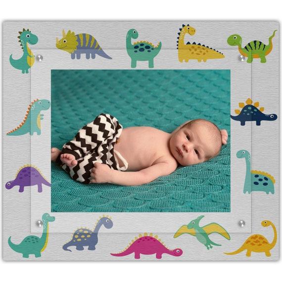 Baby Dinosaur Nursery Decor 8x10 Landscape Photo Frame Etsy