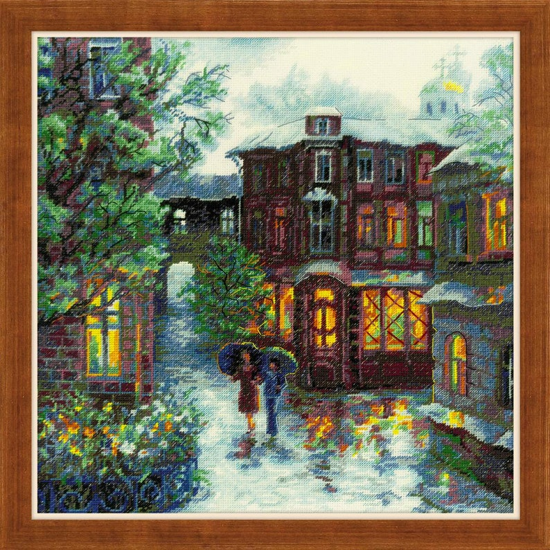 Cross Stitch Kit by Riolis 1677 Rainy Summer