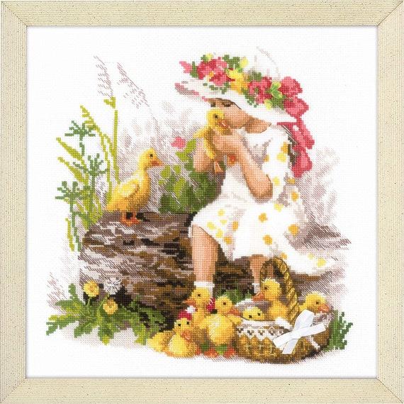 "Counted Cross Stitch Kit Riolis 1747 /""Liguria/"""