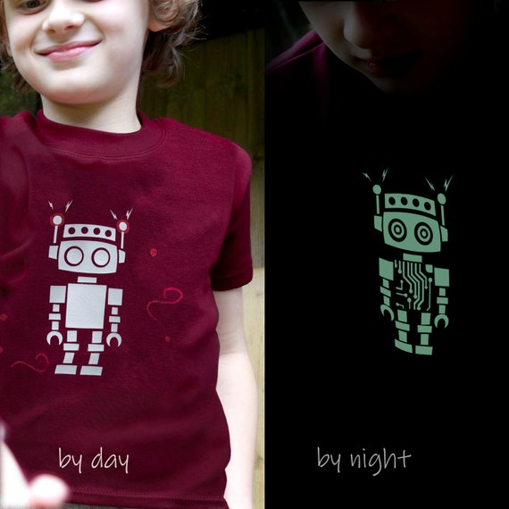 Robot Inda-Bayi Baby-Toddler-Kids Cotton T Shirt