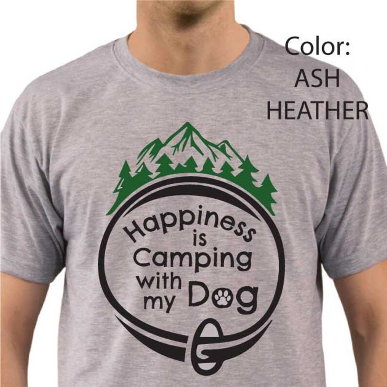 cf0df71d6b930 Camp with Dog T-shirt