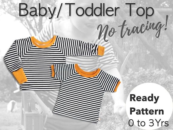 Infos für online zum Verkauf beste website Baby T-Shirt Schnittmuster, Baby Kleidung Schnittmuster, Schnittmuster  Baby, Kinder, Schnittmuster
