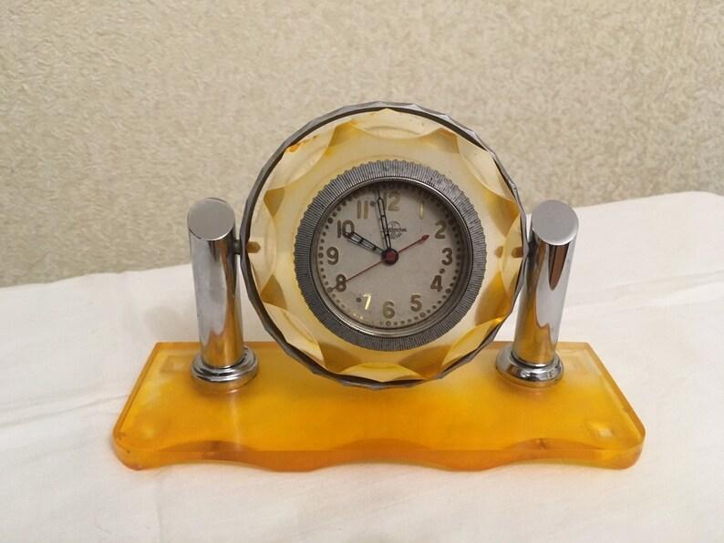 Horloge de travail mécanique soviétique Chelyabinsk Horloge Factory Tank Watch