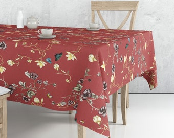Mantel rectangular  country baked apple /  country baked apple Rectangular Tablecloth