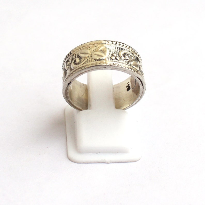 Silver Band 925 Sterling Silver Beautiful Thumb Band-Silver Band Ring-Big Size 925 Sterling Silver Band