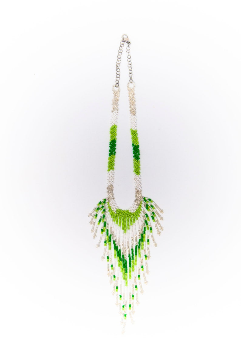 handmade mostacilla art color Handmade necklaces