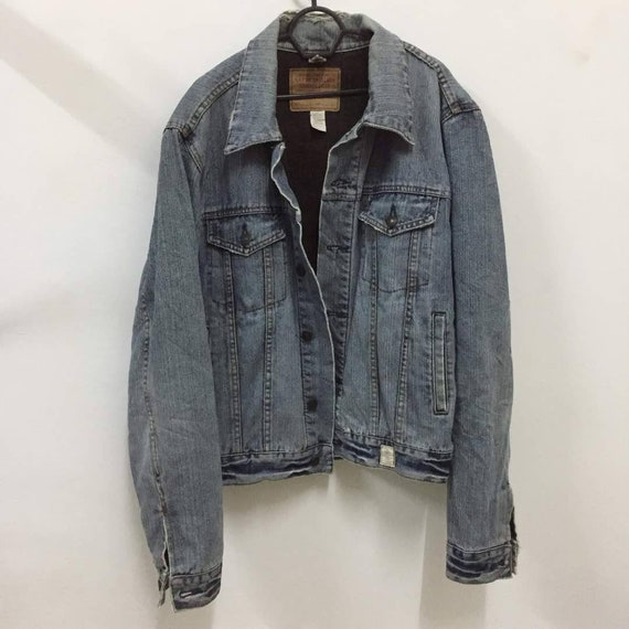 abercrombie & fitch jeansjacke
