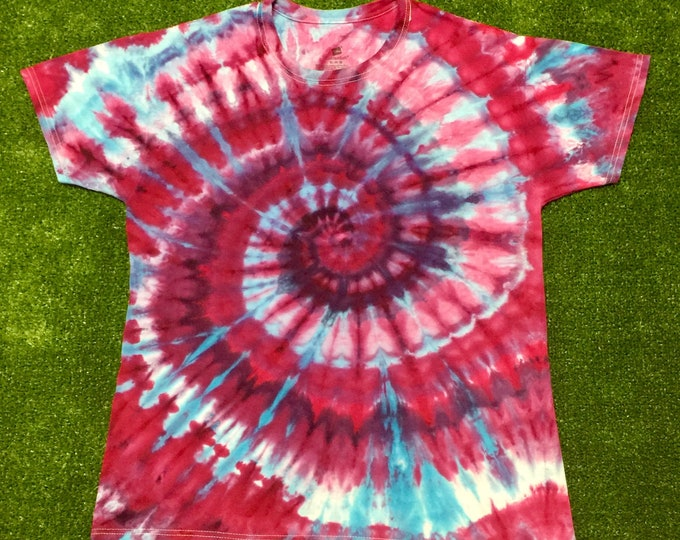 Snow Dyed Spiral Tee