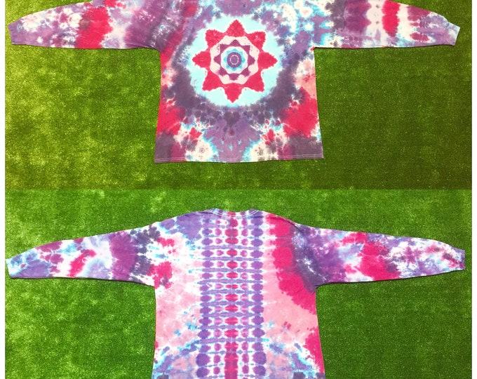 Tie Dye Mandala Long Sleeve