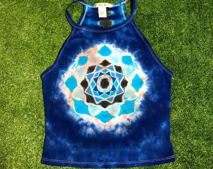 Tie Dye Mandala Crop Top