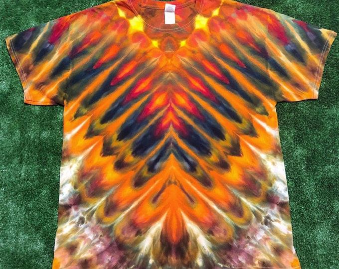 Fall Colors Tie Dye Shirt