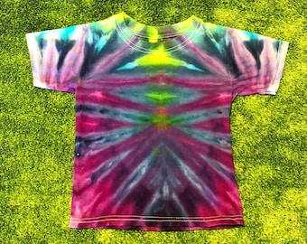 Ice Dyed Kids Tee