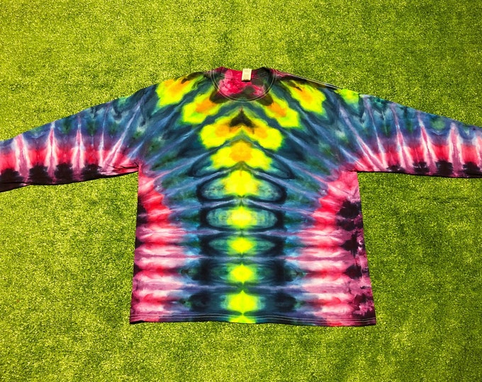 Ice Dyed Long Sleeve Tee