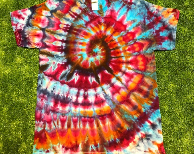 Ice Dyed Spiral Tee