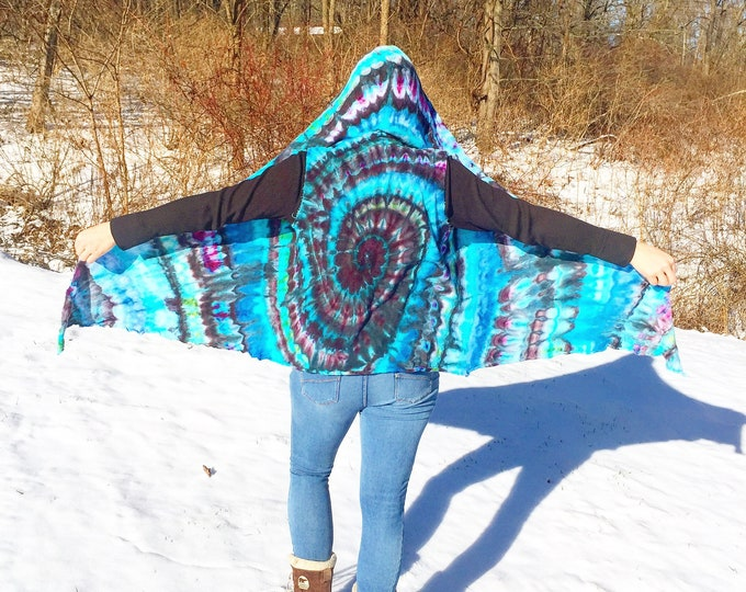 Ice Dyed Hooded Vest