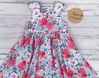 Floral Tea Party Dress