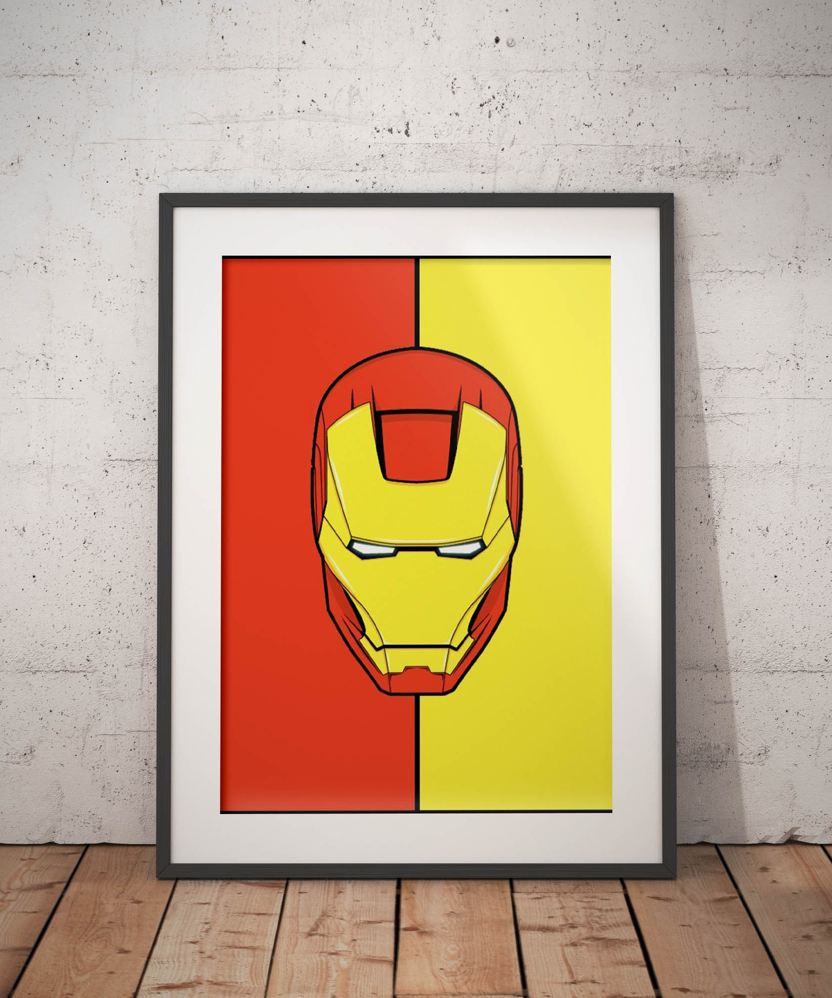Iron Man poster Iron Man print wall art home decor | Etsy