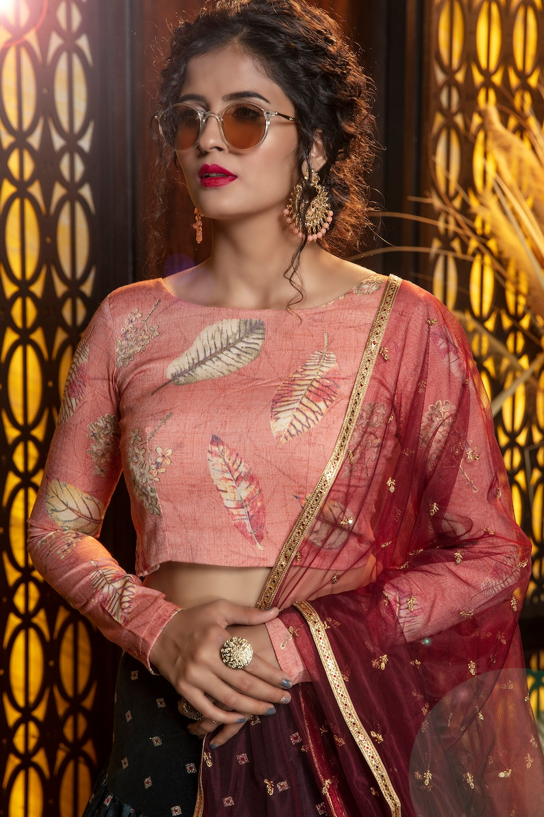 Indian Women Lehenga Choli for Bride Wedding Heavy Embroidery Work Bridal Designer Traditional For Marriage Partywear Skirt Chunni Top