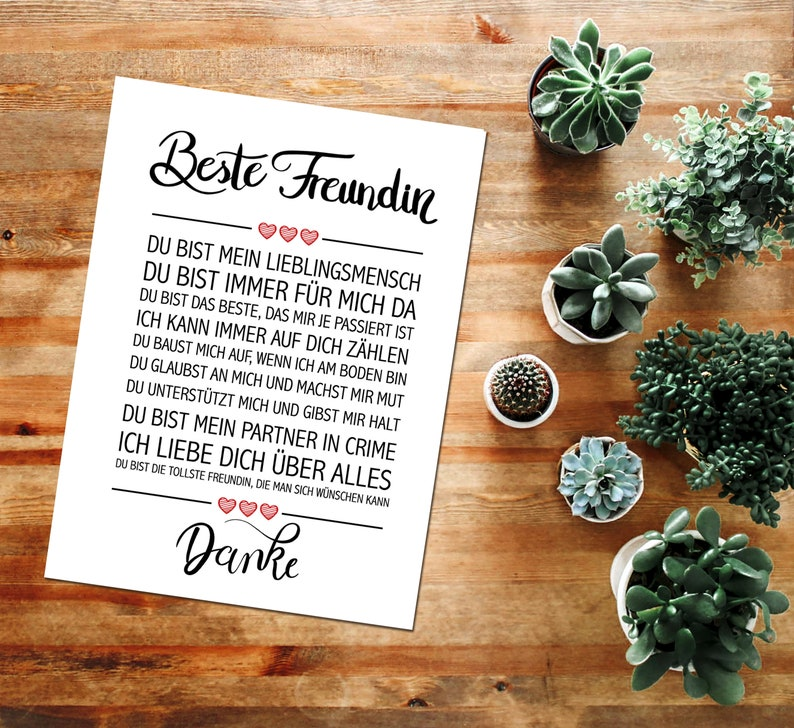 Close Up Thank You Quotes Poster Deco Gift For Birthday Etsy