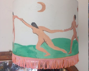 Hand Painted Dance Lampshade