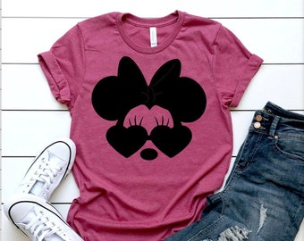 Minnie Mouse Shirt For Women Etsy