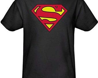 black superman etsy