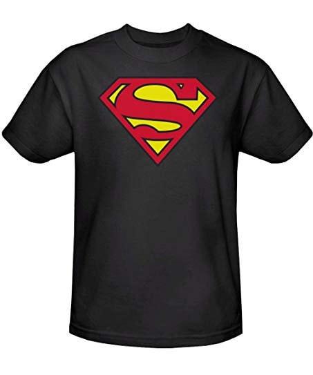 Superman Logo T Shirt Superman Logo Shirt Superman Logo Etsy